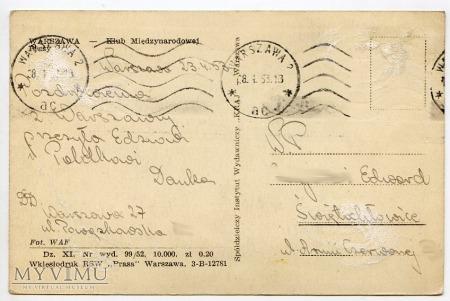 W-wa - Al. Jerozolimskie/Nowy Świat - 1952