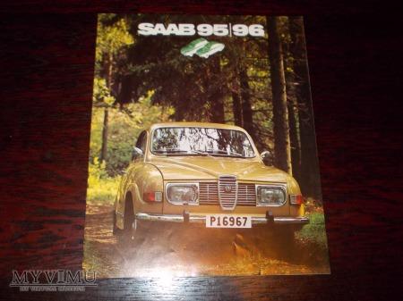 Prospekt SAAB 95/96