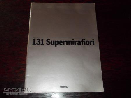 Prospekt FIAT 131 SUPERMIRAFIORI