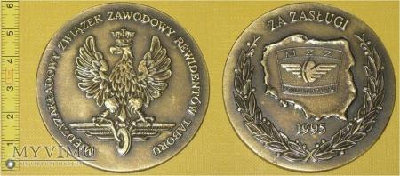 Medal kolejowy - związkowy ZZRT
