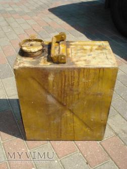kanister / bańka na 20 ltr Oleju do czołgu Tygrys