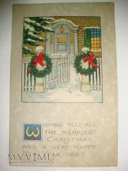 1922 Wesołych Świąt i szczęśliwego Nowego Roku.