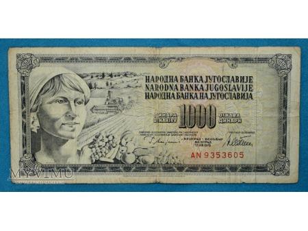 1000 Dinarów 1978
