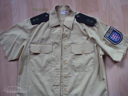 Polizei Hessen - koszula służbowa letnia