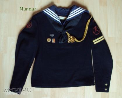 Mundur marynarza służby zasadniczej PRL