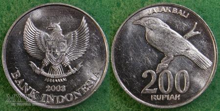 Indonezja, 200 RUPII 2003
