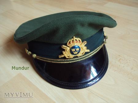 Duże zdjęcie Czapka oficerska - Skärmmössa m/68