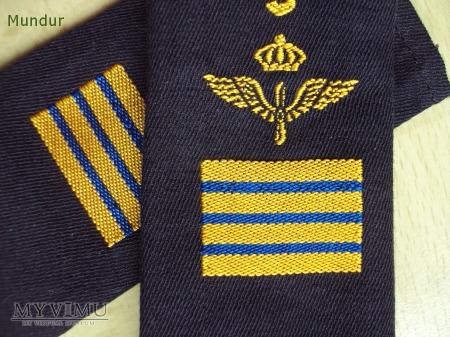 Szwecja - oznaka stopnia flygvapnet: överfurir