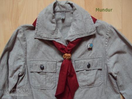 Mundurek (koszula) zucha - dziewczynki