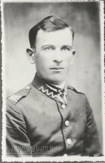Plutonowy Józef Glejf z 25 Pułku Ułanow Wielk.