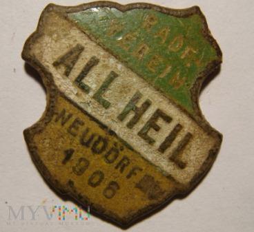 """Duże zdjęcie """"ALL HEIL"""" RADF.-VEREIN NEUDÖRF E.V. 1906"""