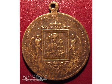 Stary medalik 500 lat Jasnej Góry