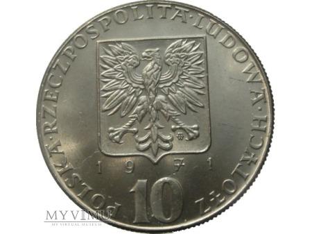 FAO, 10 zł, 1971 rok