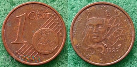 1 EURO CENT 1999