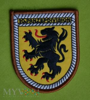 Bundeswehr: oznaka 10 Panzerpdivision