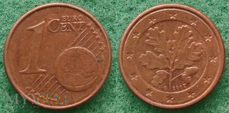 1 EURO CENT 2002 G