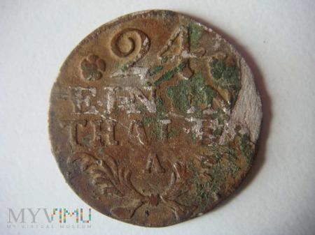 24 einen thaler, 1786, A
