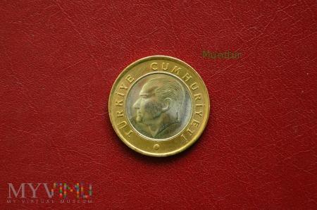 Moneta turecka: 1 lirasi