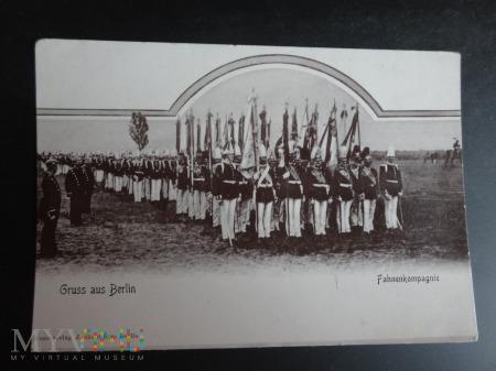 Żołnierze I wojny - karta pocztowa