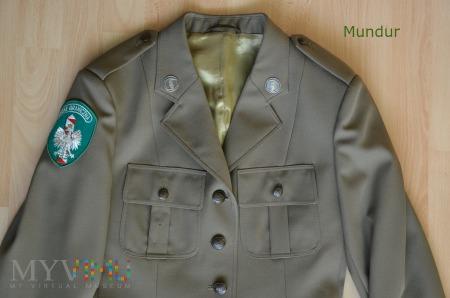 Mundur wyjściowy Straży Granicznej - kobiecy