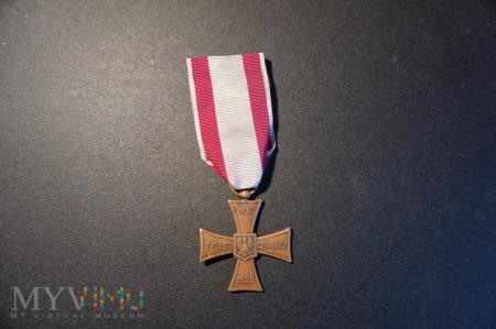 Duże zdjęcie Krzyż Walecznych - Knedler nr:41830 - II RP - 4a.