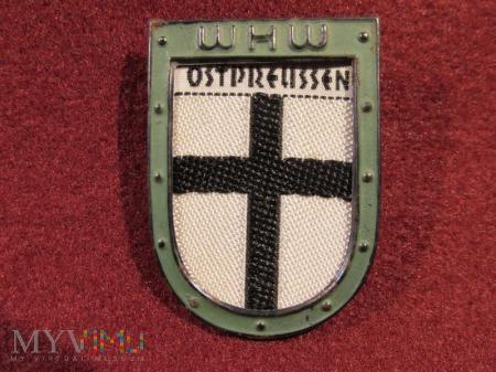 OSTPRUSEN - herby okręgów granicznych- odznaka WHW