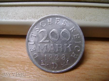 200 marek 1923r. D
