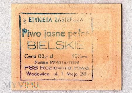 Etykieta zastępcza, Bielskie