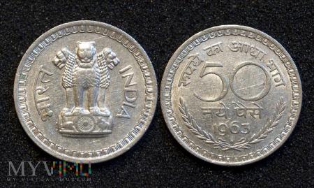 Indie, 50 Naye Paise 1963