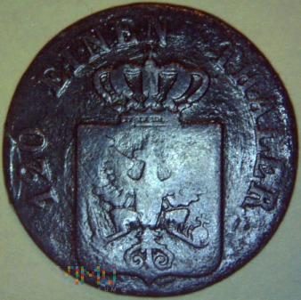 Fryderyk Wilhelm IV 1841-1861- 3 PFENNINGE 1842