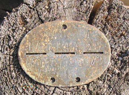 Niemiecki nieśmiertelnik 1./ H.F.A.A. 297