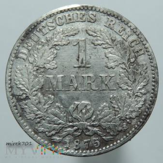 1 Marka 1875 D