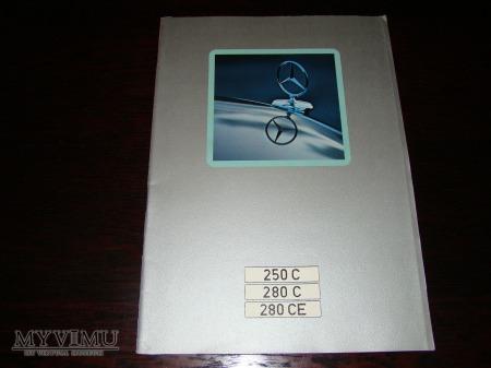 Prospekt MERCEDES W114 250C-280CE