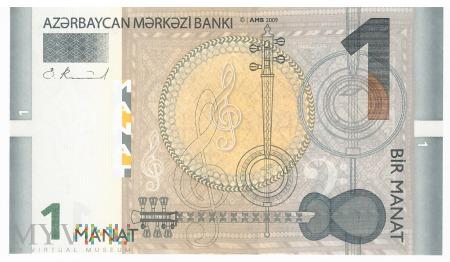 Azerbejdżan - 1 manat (2009)