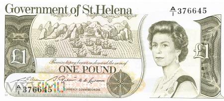 Wyspa Św. Heleny - 1 funt (1981)