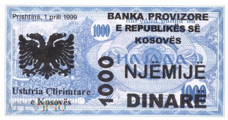 Kosowo - 1 000 dinarów (1999)