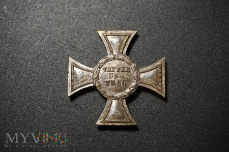 Krzyż 2 Klasy Tapfer Und Treu 1914r.