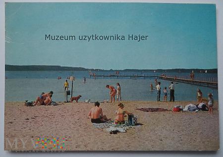 BOSZKOWO Plaża nad Jeziorem Domnickim