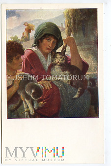 Stuckelberg - Dzieci z kotami z Vicovaro