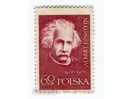 1959 Albert Einstein wielcy uczeni
