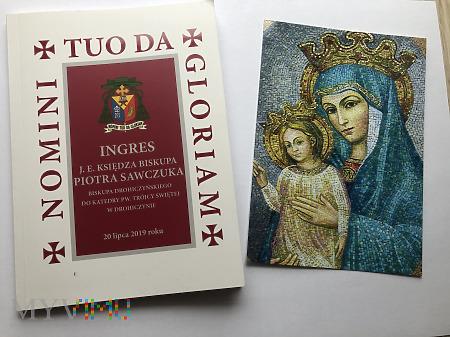 Duże zdjęcie Ingres bp.Piotra Sawczuka książeczka uczestnictwa