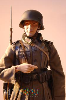 Schütze z Polizei Division- Prusy Wschodnie, 1941.