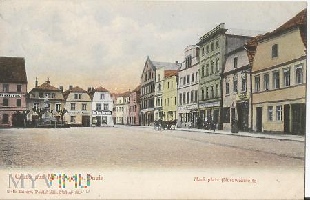 Pocztwóka z Nowogrodźca Naumburg a Queis