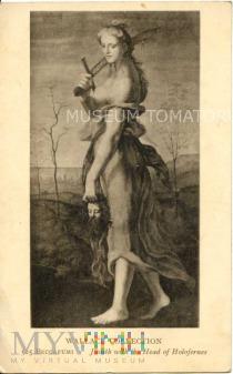 Judyta z odciętą głową Holofernesa - Mecherino