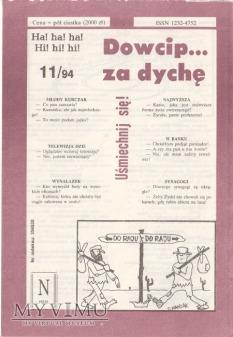 Dowcip...za dychę 11/94