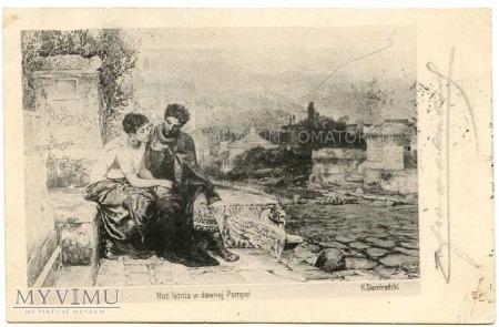 Siemiradzki - Noc letnia w dawnej Pompei