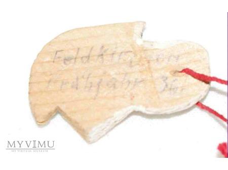 Odznaka whw Gau Munchen-Oberbayern 14/15 11 1936