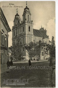 Wilno - Kościół Św. Katarzyny