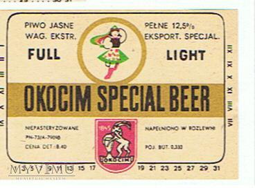 okocim special beer