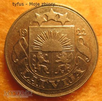 10 SANTIMU - Łotwa (1922)